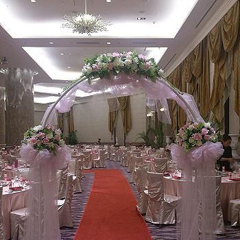 M001浪漫婚禮會場佈置