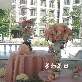 M003浪漫婚禮會場佈置
