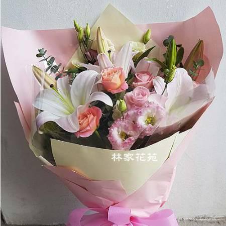 A023珍愛演唱會獻花花束情人節傳情花束