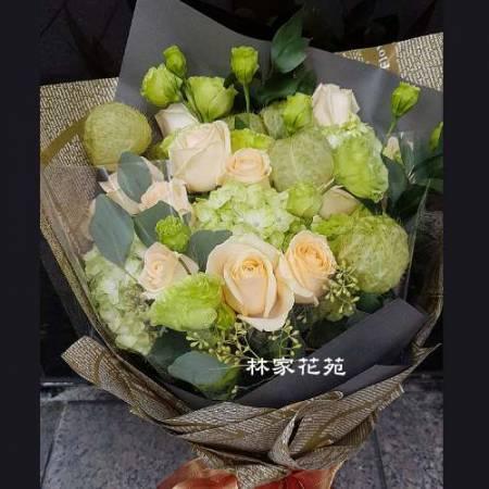 A027滿滿的祝福傳情花束情人節演唱會花束