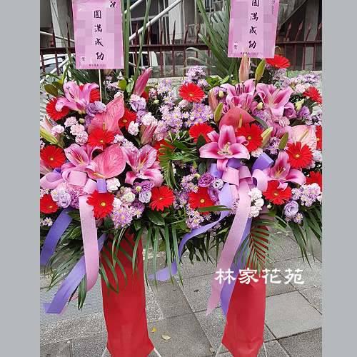 G026開幕祝賀高架花籃、開幕藝術花籃慶祝榮陞、開幕喬遷