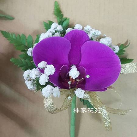 J001開會胸花精緻胸花