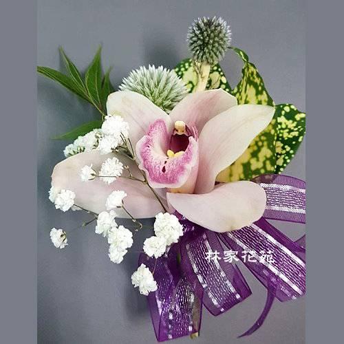 J002開會胸花精緻胸花