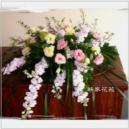 C005精緻盆花-講桌水平盆花