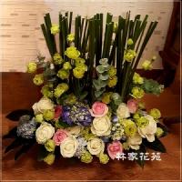 C007祝賀喜慶盆花會場佈置開幕榮陞賀禮桌上盆花