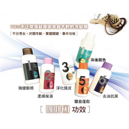 天然核桃4號染色固色洗髮精100ml//CaffeineShampoo