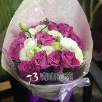 A011瑰桔梗花束生日花束情人節花束
