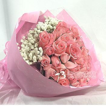 A014玫瑰時尚花束求婚花束情人節花束