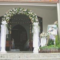 M1001結婚會場佈置教會結婚會場