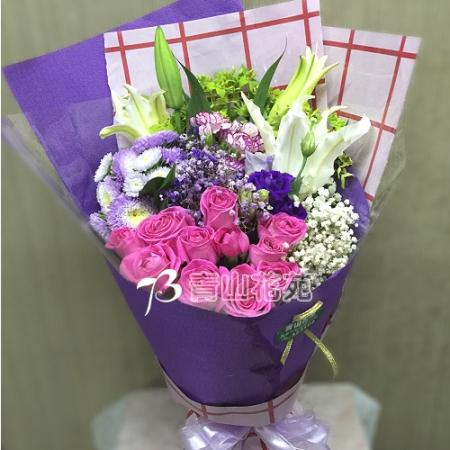 A028傳情花束綜合花束時尚花束