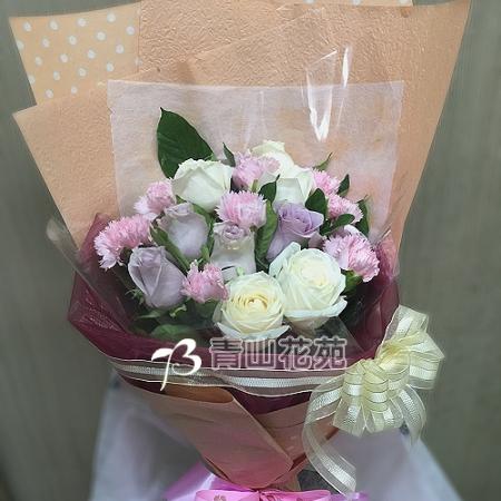 A033馨心相映康乃馨花束母親節花束