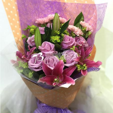A035珍愛媽咪母親節花束傳情花束
