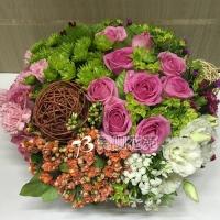 C024精緻盆花會場佈置盆花店面擺設
