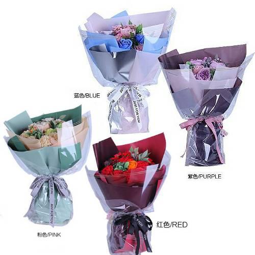 Y006愛的饗宴奧斯汀玫瑰香皂花束