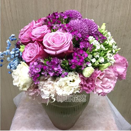 C025精緻盆花祝賀花禮開幕喬遷時尚盆花
