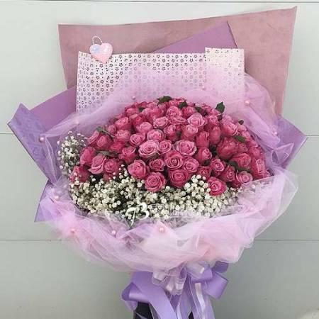 A063求婚生日情人節花束玫瑰花束