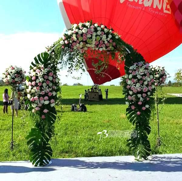 M1002結婚會場佈置戶外結婚會場
