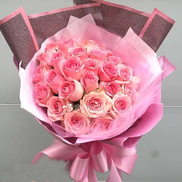 A064幸福滿滿玫瑰情人節花束