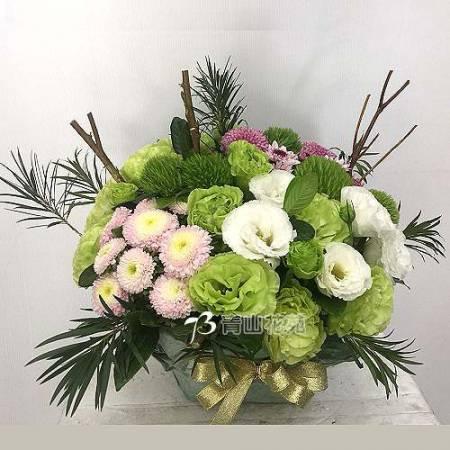 C038精緻盆花祝賀花禮開幕喬遷時尚盆花