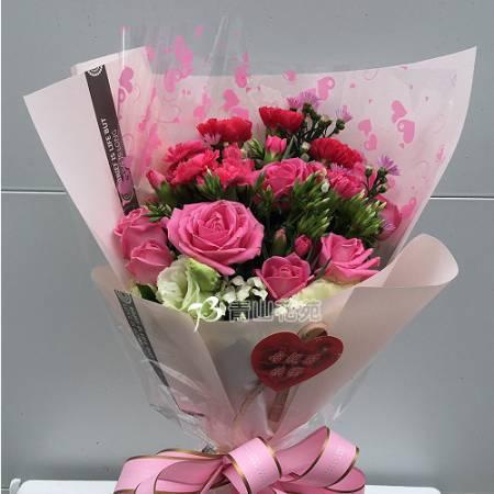 A074馨愛母親母親節花束傳情花束