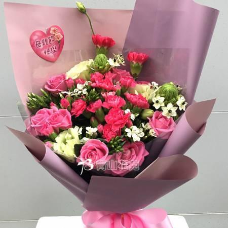 A078馨愛母親母親節花束傳情花束