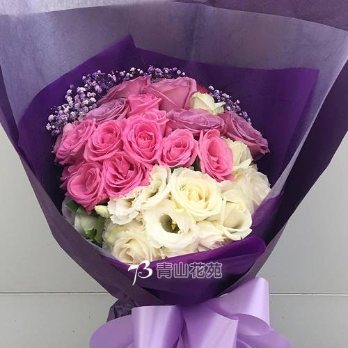 A080祝福之星傳情花束玫瑰花束
