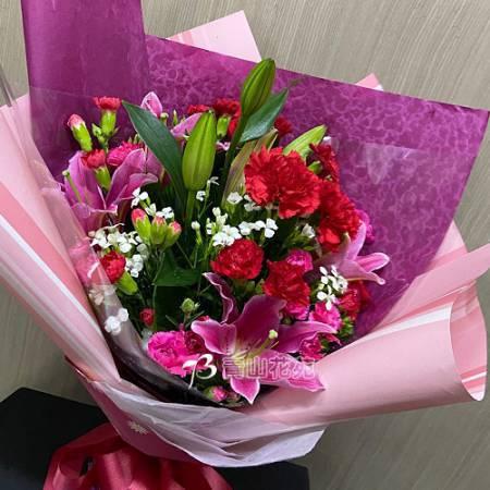 A088母親節花束感恩花束康乃馨花束傳情花束