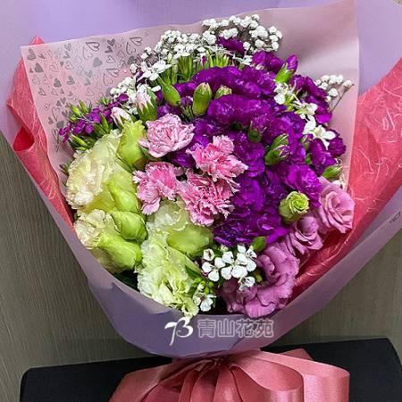 A091馨愛母親母親節花束傳情花束