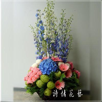 A019精緻盆花會場佈置盆花開幕喬遷時尚盆花