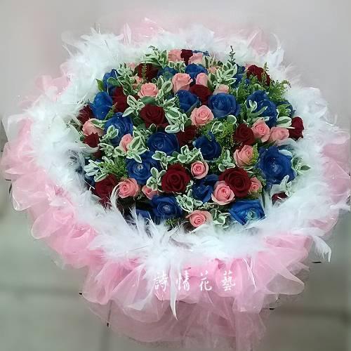 F1013永不變的愛求婚花束玫瑰花束