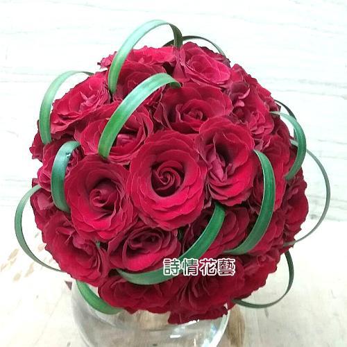 N002新娘捧花浪漫捧花(請來電洽詢)