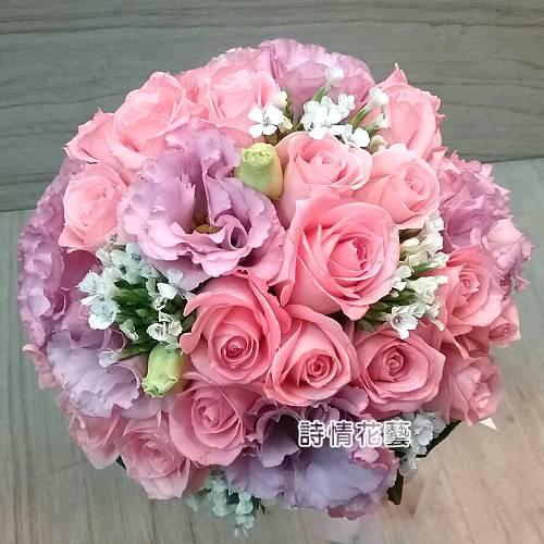 N008新娘捧花浪漫捧花(請來電洽詢)
