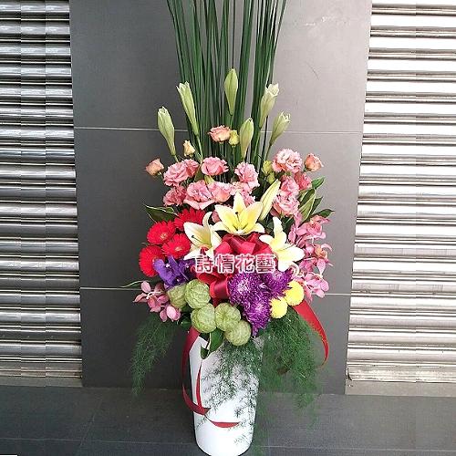 A036精緻盆花會場佈置盆花開幕喬遷時尚盆花