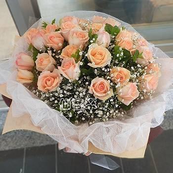 A001我想寵愛你玫瑰花束情人節花束生日浪漫花束