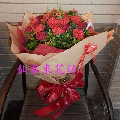 【B-201】母親節花束母親節康乃馨花束:最愛媽咪