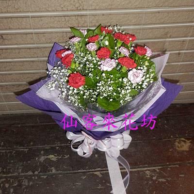 【B-203】母親節感恩花束康乃馨花束