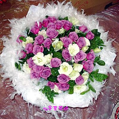【R-045】花束精選:玫瑰花束-情人花束-情人節花束-傳情花束