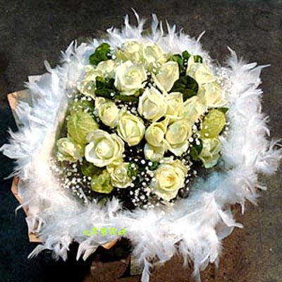 【B-109】花束精選:玫瑰花束-情人花束-情人節花束-傳情花束