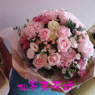 【B-167】花束精選:百合花束-情人花束-情人節花束-傳情花束情人節花束