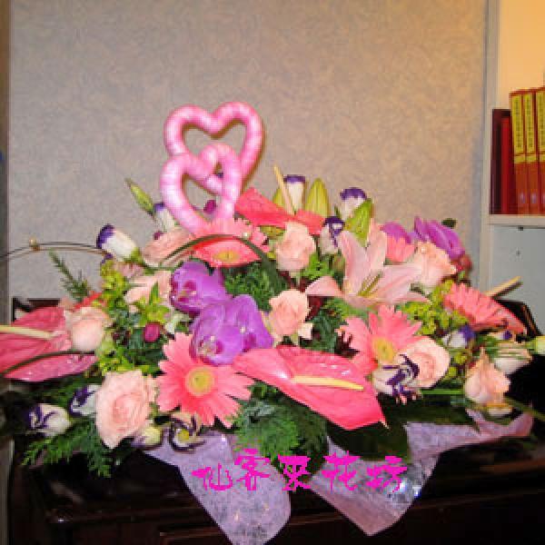 【A-014】結婚盆花-琴瑟和鳴盆花