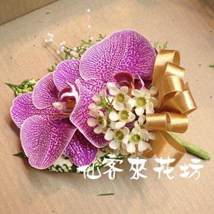 【V-025】胸花-蝴蝶蘭胸花