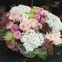 C003精緻盆花喜慶會場佈置盆花