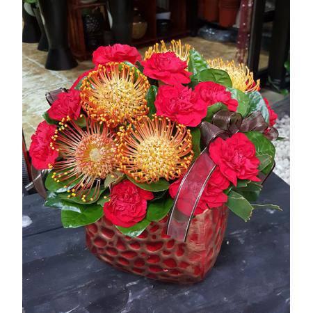 AB001精緻盆花母親節盆花