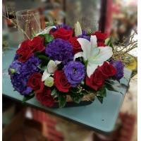AD002新春喜慶盆花祝賀盆花