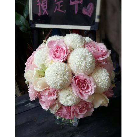 G005捧花浪漫新娘捧花