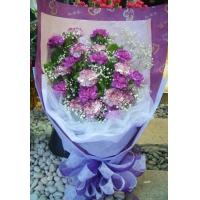 AB011母親節花束花禮康乃馨花束