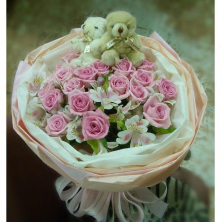 A011玫瑰花束情人節花束生日浪漫花束