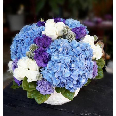 C023精緻盆花喜慶會場佈置盆花