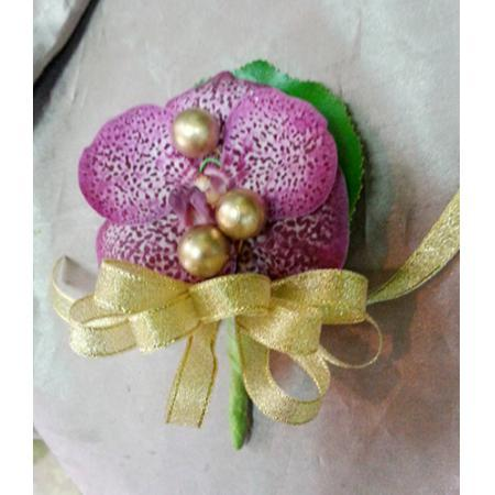 G010胸花-巨輪蘭花