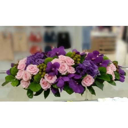 C026精緻盆花喜慶會場佈置盆花